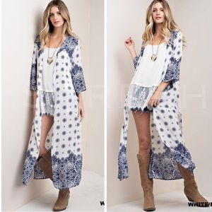 Sweaters - New Arrival Casablanca Bohemian Kimono Cardi